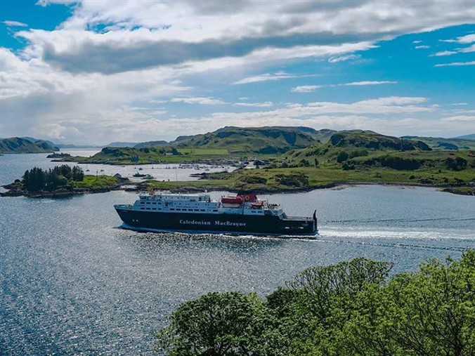 Oban Ferry Sailing