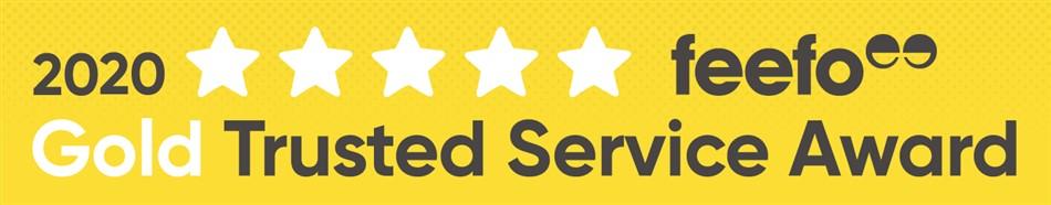 Feefo Gold Service 2020