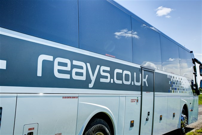 Group travel options with Reays Coaches