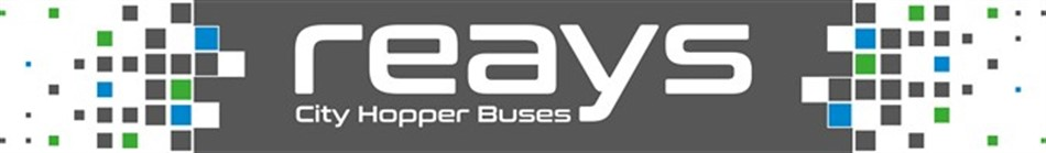 Local city hopper buses with Reays
