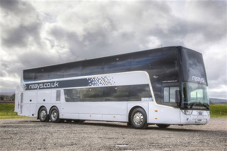 87 seat executive double decker