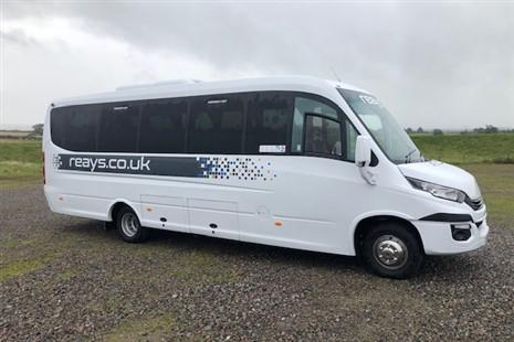 33-seat midi coach