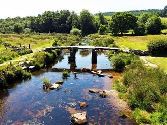 Dartmoor River in Devon