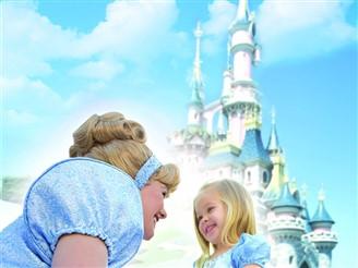 Cinderella & Disney Castle