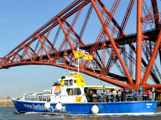 Forth Three Bridges Cruise & Edinburgh