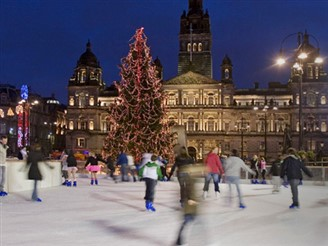 Glasgow At Christmas