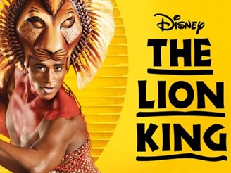 Disney's Lion King live in Edinburgh